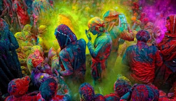 Holi en India