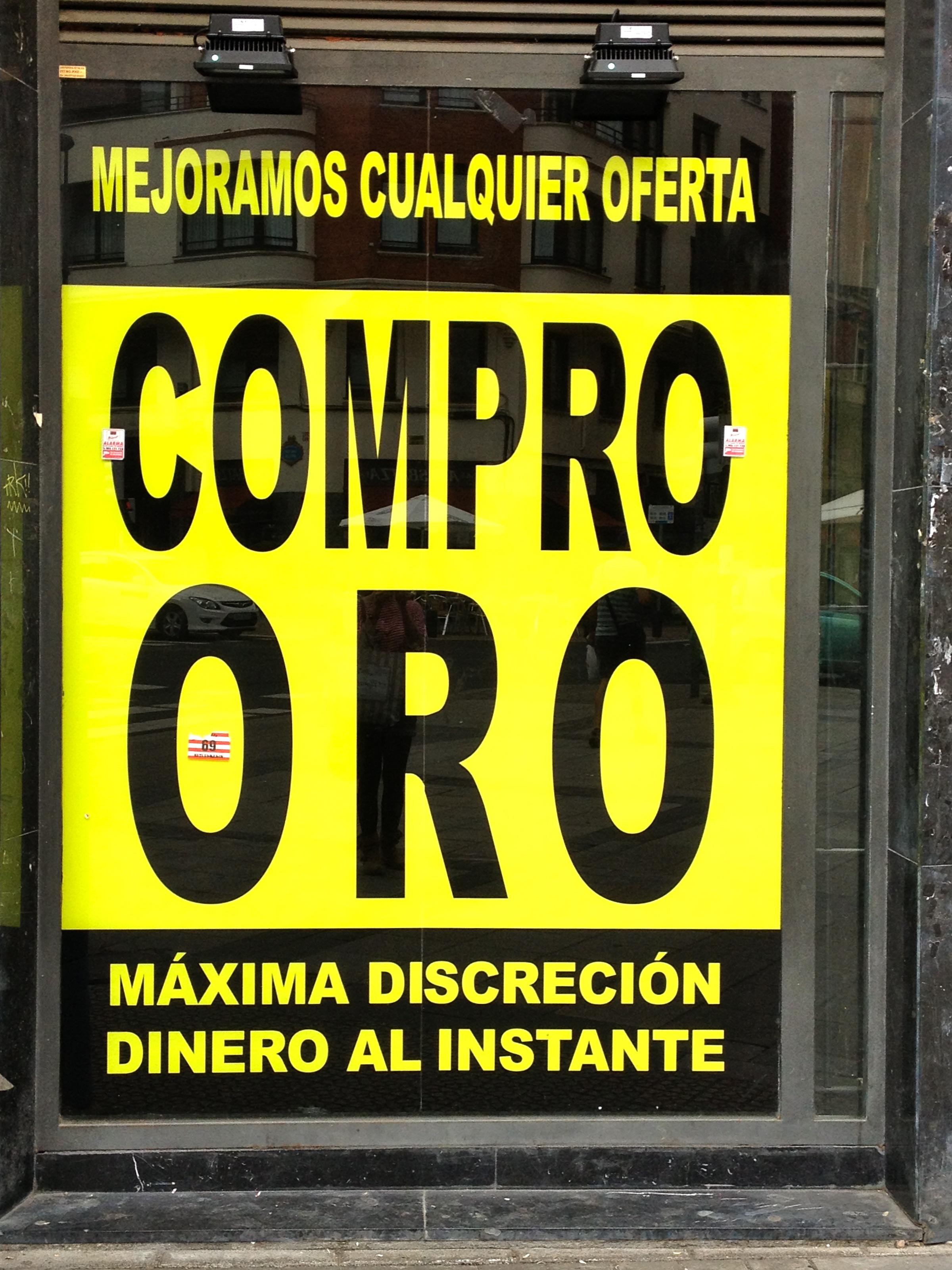 Compro oro chai y caf Compro oro villena